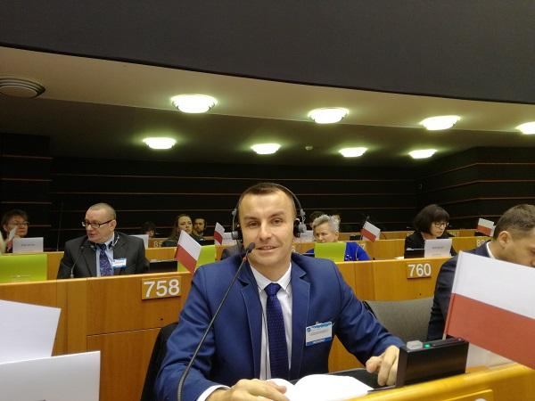 Obrady Parlamentu Europejskiego Osób Niepełnosprawnych w Brukseli - Foto: archiwum prywatne