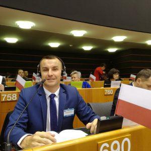 Parlament osób niepełnosprawnych w Brukseli