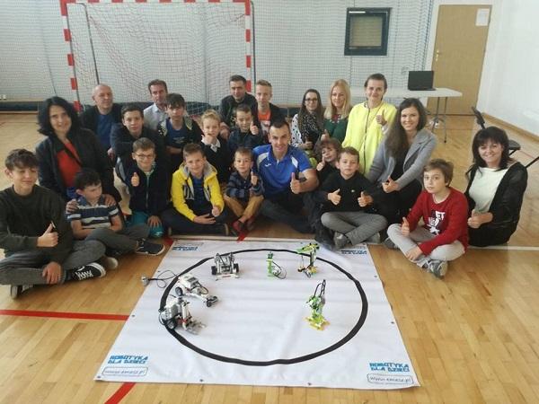 Europejski Tydzień Kodowania: Pokaz robotów